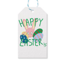 Easter Bunny 2 Gift Tags
