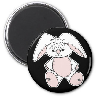 Easter Bunny 2 Inch Round Magnet