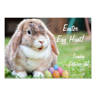 Easter Bunny 3.5x5 Paper Invitation Card
