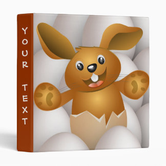 easter bunny 3 ring binder