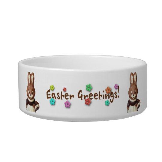 Easter Bunny 3D Pet Bowl