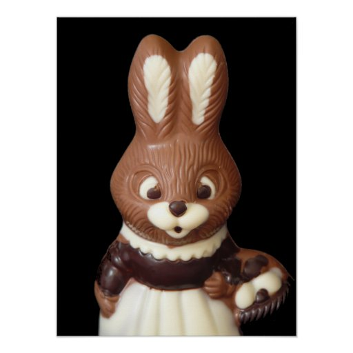 Easter Bunny 3D Poster
