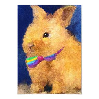 Easter Bunny 5x7 Mini Prints Card
