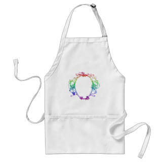 Easter Bunny - Add YOUR words/pictures Adult Apron
