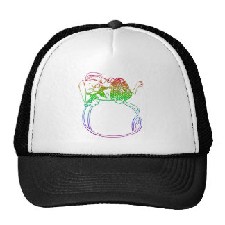 Easter Bunny - Add YOUR words/pictures Trucker Hat