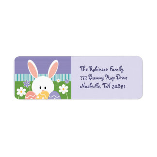 Easter Bunny Address Labels
