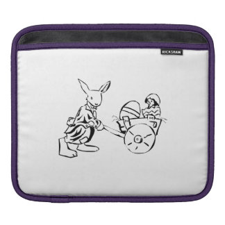 Easter Bunny and Baby Chick Sleeve For iPads