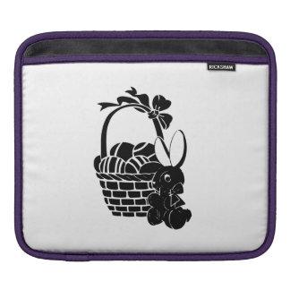 Easter Bunny and Basket iPad Sleeve