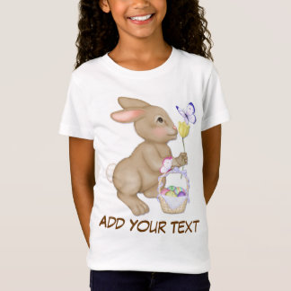 Easter Bunny and Basket T-Shirt