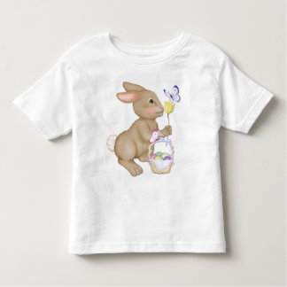 Easter Bunny and Basket Toddler T-shirt