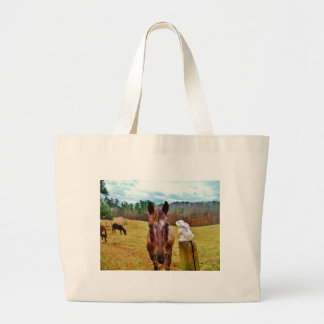 Easter Bunny and Brown horse Bag