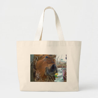 Easter Bunny and Brown horse Bags