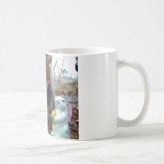 Easter Bunny and Brown horse Coffee Mug