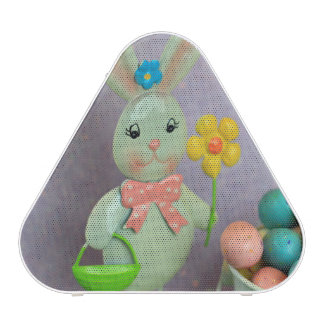 Easter Bunny and candy eggs Bluetooth Speaker