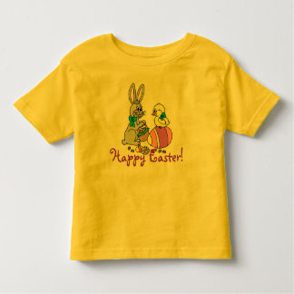 Easter Bunny and Chick Toddler T-shirt