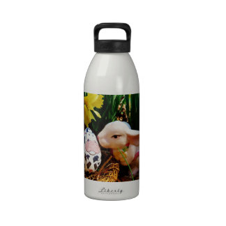 Easter Bunny and cow egg Drinking Bottles