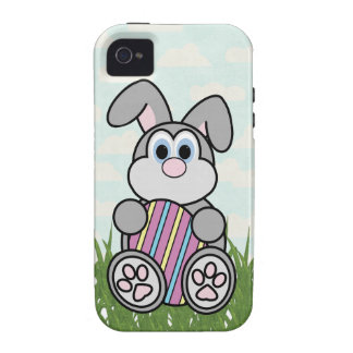 Easter Bunny and Easter Egg iPhone 4 Case