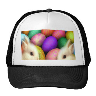 Easter Bunny and Easter Eggs Trucker Hat