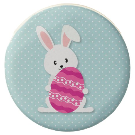Easter bunny and egg chocolate covered oreo