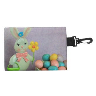 Easter Bunny and Eggs Accessory Bag