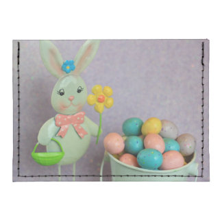 Easter Bunny and Eggs Card Wallet