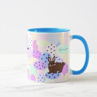 Easter Bunny and Eggs Mug