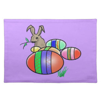 Easter Bunny and Eggs Place Mat