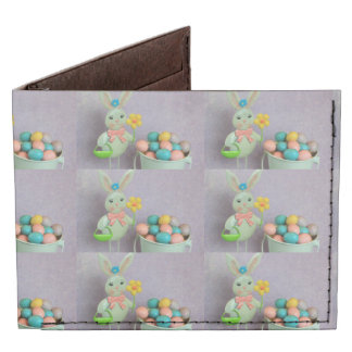 Easter Bunny and Eggs Tyvek Wallet