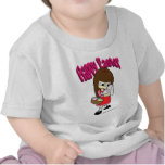 Easter Bunny and The Girl T-shirts