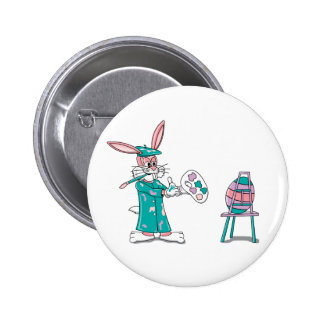 Easter Bunny Artist Pin