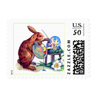 Easter Bunny Artist Postage
