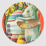 Easter Bunny Artist Stickers