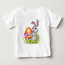 Easter bunny baby shirt