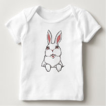 Easter Bunny Baby Shirt Baby Easter Tee Shirt