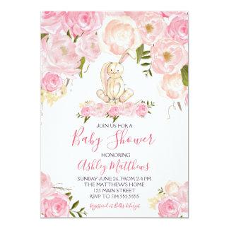 easter Bunny Baby shower Invitation Shower