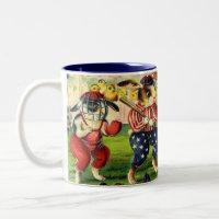 Easter Bunny Baseball Coffee Mug