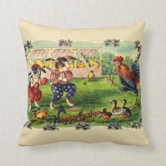 Easter Bunny Baseball Pillow