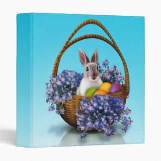 Easter Bunny Basket Binder