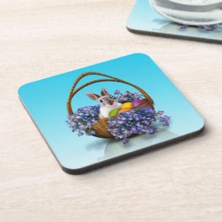 Easter Bunny Basket Coasters (set of 6)