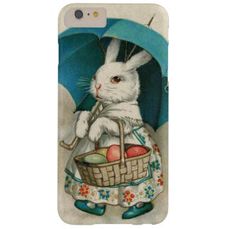 Easter Bunny Basket Colored Egg Umbrella Barely There iPhone 6 Plus Case