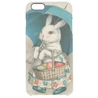 Easter Bunny Basket Colored Egg Umbrella Clear iPhone 6 Plus Case
