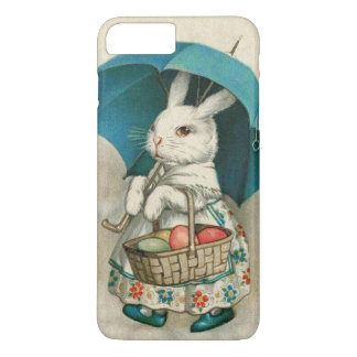 Easter Bunny Basket Colored Egg Umbrella iPhone 7 Plus Case