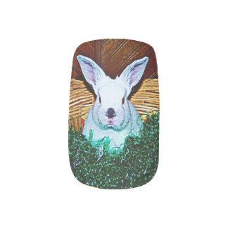 Easter Bunny Basket Minx Nail Wraps