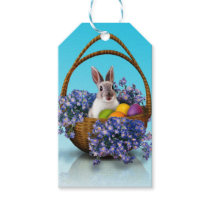 Easter Bunny Basket Pack Of Gift Tags