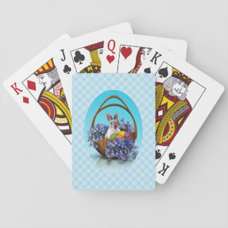 Easter Bunny Basket Playing Cards