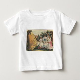 Easter Bunny Bell Lily Daisy Choir Baby T-Shirt