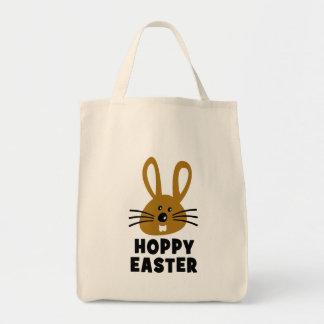 Easter Bunny Bolsa Tela Para La Compra