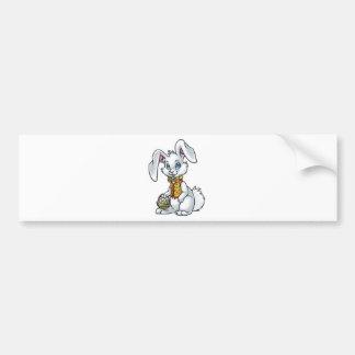 Easter Bunny Car Bumper Sticker