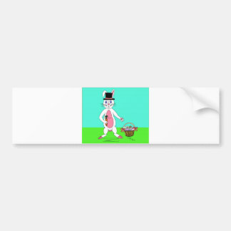 Easter Bunny Bumper Sticker
