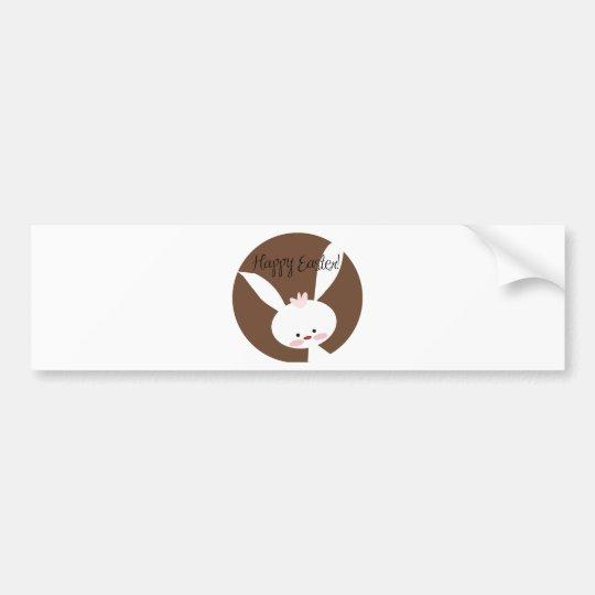 Easter Bunny Bumper Sticker